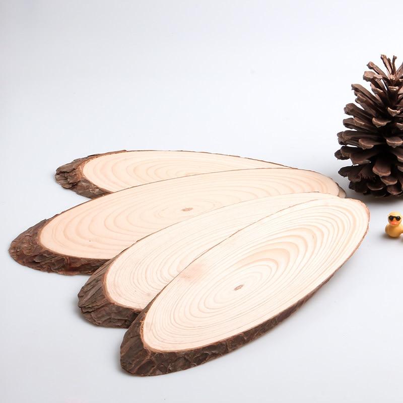 1 шт. многоразмерные Овальные Пустые диски, деревянные диски, таблички, зажимы из натурального дерева для детей, ручная работа, украшение для...