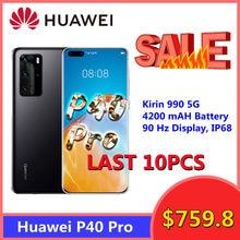 Uitverkoop Huawei P40 Pro 5G Smartphone 6.58Inch Octa Core 8Gb 256Gb 50MP Camera Bluetooth 5.1 gezicht Unlock WiFi6 Mobiele Telefoon
