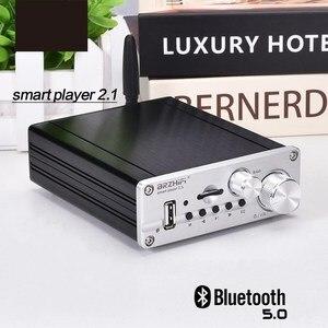 Image 3 - HIFI TPA3116 50W + 50W + 100W 2.1 สเตอริโอซับวูฟเฟอร์ Amplfiier บลูทูธ 5.0 Bass Amp บอร์ดโฮมเธียเตอร์ amplificador