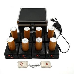 Image 5 - BD12 12 قنوات قابلة للشحن استقبال مزدوج التحكم عن بعد نافورة قاعدة آلة النار لحفل الزفاف