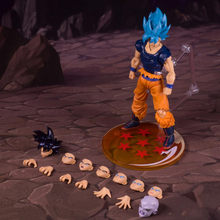 Demoniacal ajuste shf tenaz artista marcial ssj azul goku evento exclusivo goku ui pvc figura de ação figurais brinquedos