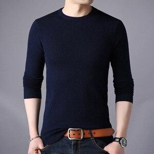 Image 1 - Darmowa wysyłka New Fashion 2020 wiosna jesień wełniane dla mężczyzn swetry człowiek swetry