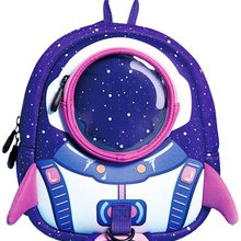 Bag Uek for Boy Girl Backpack Rocket Lightweight Anti-Lost Travel 3D Toddlers Houlderoutdoor