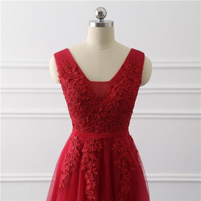 Royal blue Evening Dress plus size Long 2020 A Line Formal Party dresses appliques lace prom gown dress bridal Vestido De noiva 4