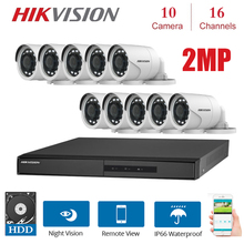 16 Channels HIKVISION English Version DVR DS-7216HGHI-F1/N 1080P with 10pcs 2MP 4 in 1 indoor night vision Camera KITS hikvision english firmware ds k1t501sf fingerprint access controller call to indoor monitor hik connect ivms 4200 page 4