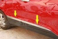 S. Çelik Yan kapı Kalıplama trim eşiği Krom Hyundai TUCSON ix35 2010-2015
