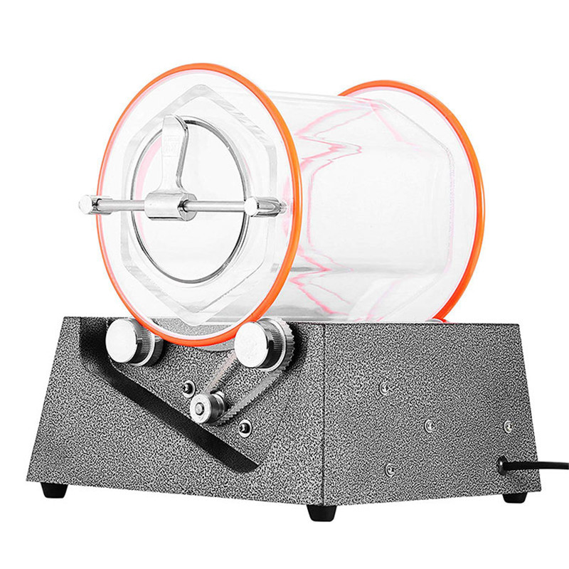 KT-2000 Jewelry Polishing Machine Tumbler 5Kg Mini Polisher Tumbler Rotary Tumbler Surface Polisher Jewelry Polishing Machine