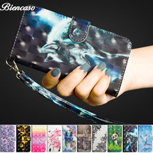 Wallet Flip Case For Samsung Galaxy A9 A6S A7 2018 J6 PLUS J4 J2 Core J8 J3 J5 J7 Pro 2017 J330 J530 Card Holder Magnetic Cover(China)