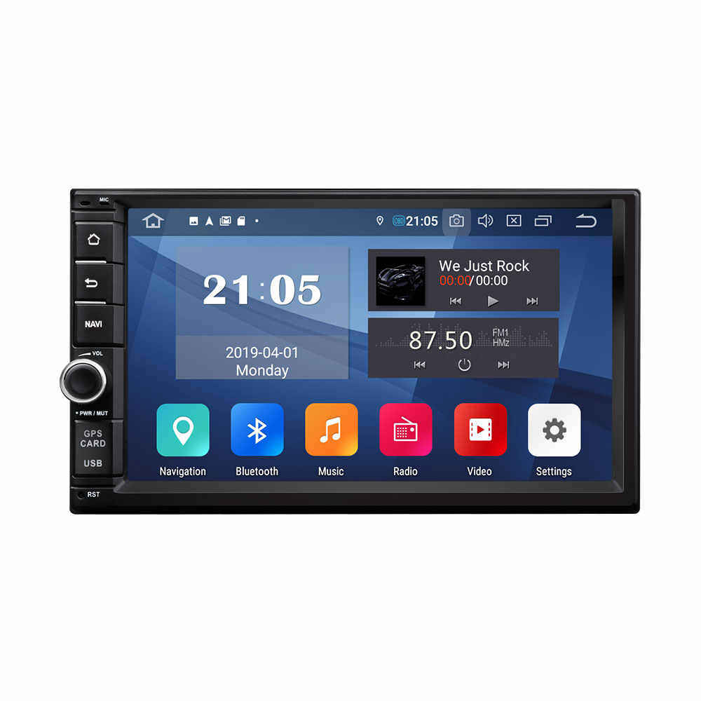 Eonon Android 9.0 พาย Universal Double Din Car Stereo 7 นิ้ว HD Touchscreen GPS นำทาง Bluetooth 5.0 4G wi-fi