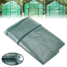 Z tworzywa sztucznego cieplarnianych pokrywa 4 Tier z tworzywa sztucznego ogród cieplarnianych wymiana okładki ze wzmocnionymi pokrywa 160x70x50cm tanie tanio CN (pochodzenie)