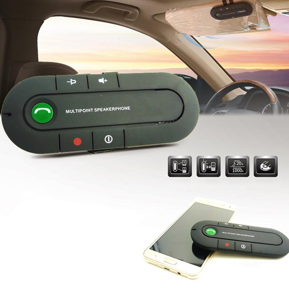 BT501 USB B-T Handsfree Car Kit Wireless Speaker Phone MP3 Music Player Sun Visor Clip Speakerphone Hands-Free