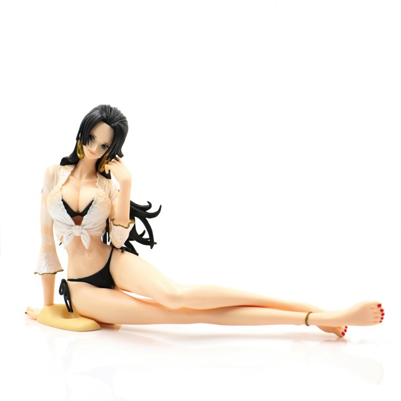 Anime One Piece Master Stars Piece Hankook Female Emperor Swimsuit Bikini Boxed PVC Action Figure Collection Model Toy
