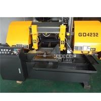 GD4232 Band Sawing Machine Industrial Grade Metal Sawing Machine Horizontal Band Saw Machine 220V/280V 4KW 20.35.45.65.80m/min
