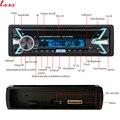Bluetooth V3.0 съемный Стерео Авторадио автомобильный радиоприемник 12 В In-dash 1 Din FM Aux вход приемник SD USB MP3 MMC WMA автомобильный аудиоплеер