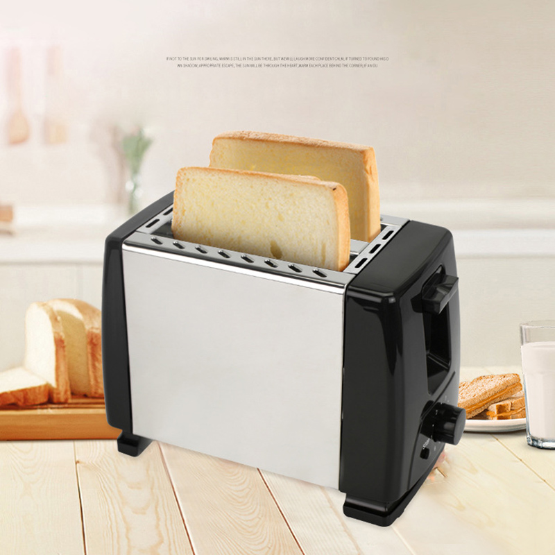 Automatic Toaster, Toaster With 2X Wide  For Up To 4X Discs, 6X Silk Steps With Hot Roll For Croissants, Bagels, Euro