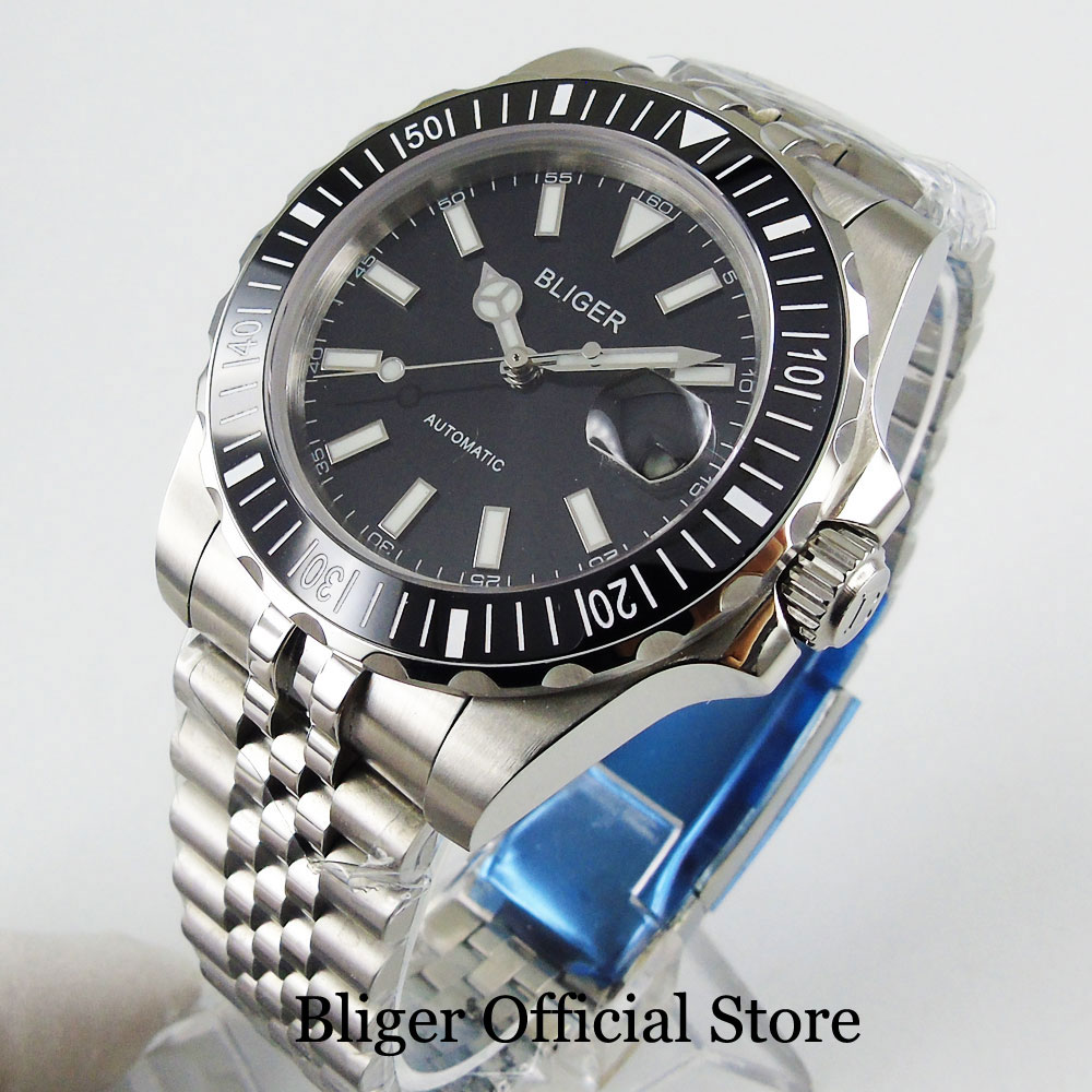 2020 New Arrival Business Automatic Men Watch Sapphire Glass Stainless Steel Strap MIYOTA Movement