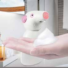 Cartoon Automatic Hand Soap Dispenser Smart Sensor Sanitizer Dispenser Hand Washer For Bathroom Kitchen Alcohol Disinfection недорого