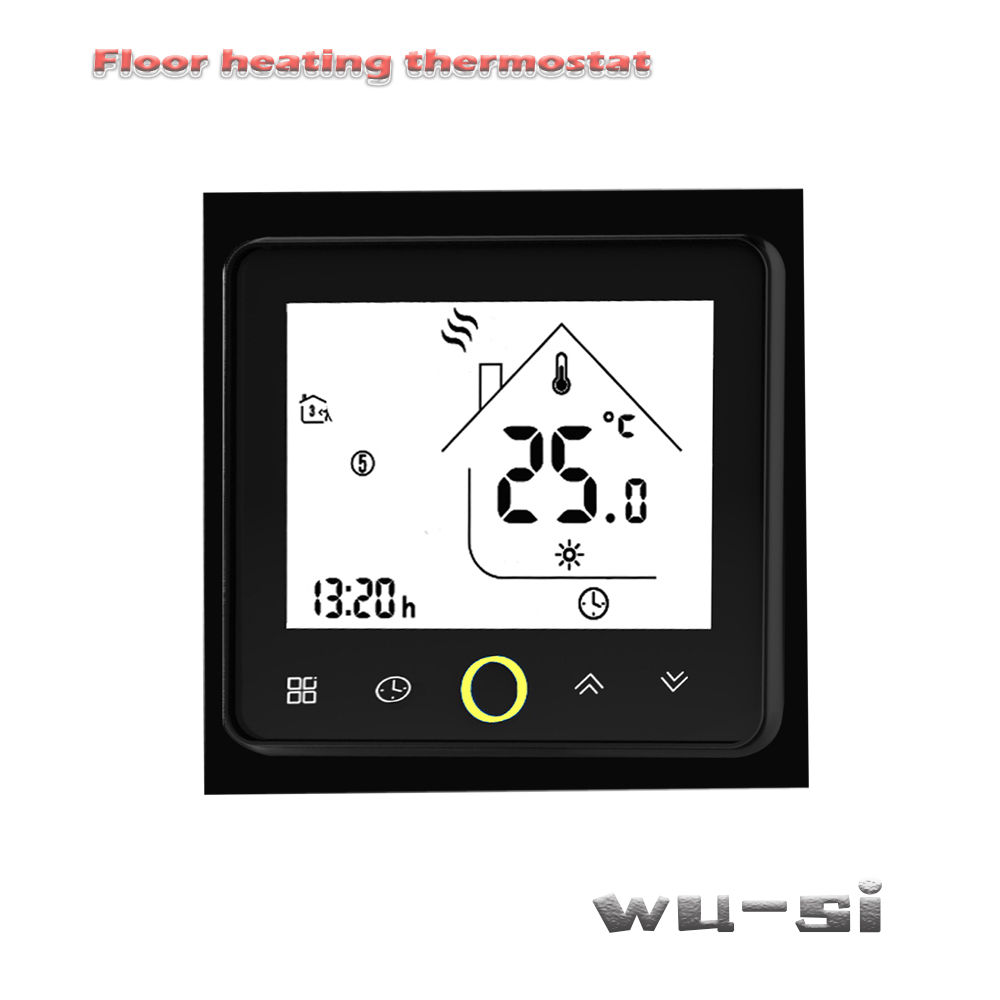 24VAC 95-240VAV Floor Heating Thermostat With Programming