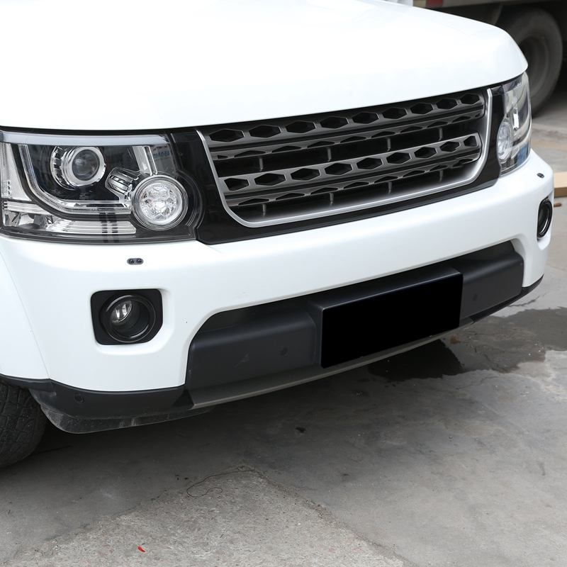 Car ABS Black Front Fog Lamp Light Frame Cover Trim Accessories for Land Rover Discovery 4 2014-2016