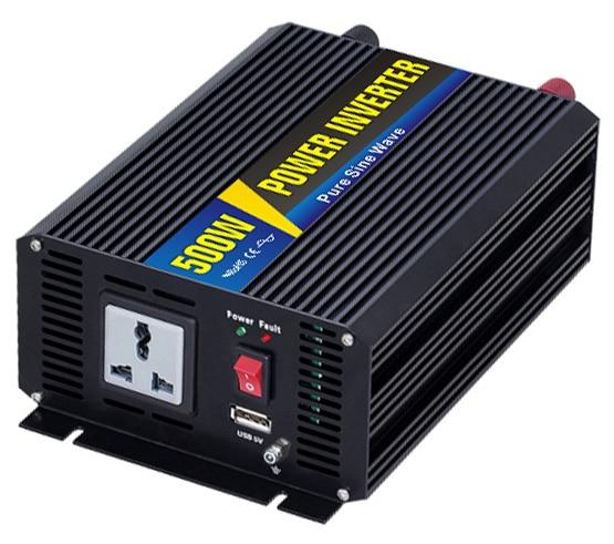 Pure sine wave Inverter Smart-500W 12VDC 24VDC 48VDC //to 110V 220V 500W