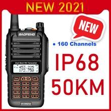 2021 Walkie Talkie 50km de largo alcance Baofeng UV 9R más 160CH dos Radio VHF UHF estación de Radio UV9R Plus CB Ham transceptor HF