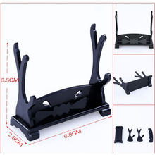 DIY Stand Sword Gun Knife Weapon Model Plastic Display Anime Game Accessories Holder Rack Pendant Toys Souvenirs Gift For Fans(China)