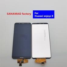 Для huawei enjoy 8 ЖК дисплей и сенсорный экран в сборе запчасти