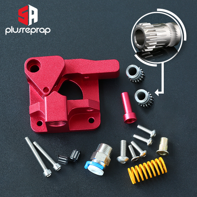 CR10 PRO Upgraded Dual Gear Extruder Double Pulleys Direct Aluminum Extruder for Ender 3/5 CR10S PRO 3D Printer Parts 1