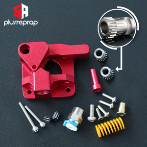 Image 1 - CR10 PRO Upgraded Dual Gear Extruder Double Pulleys Direct Aluminum Extruder for Ender 3/5 CR10S PRO 3D Printer Parts