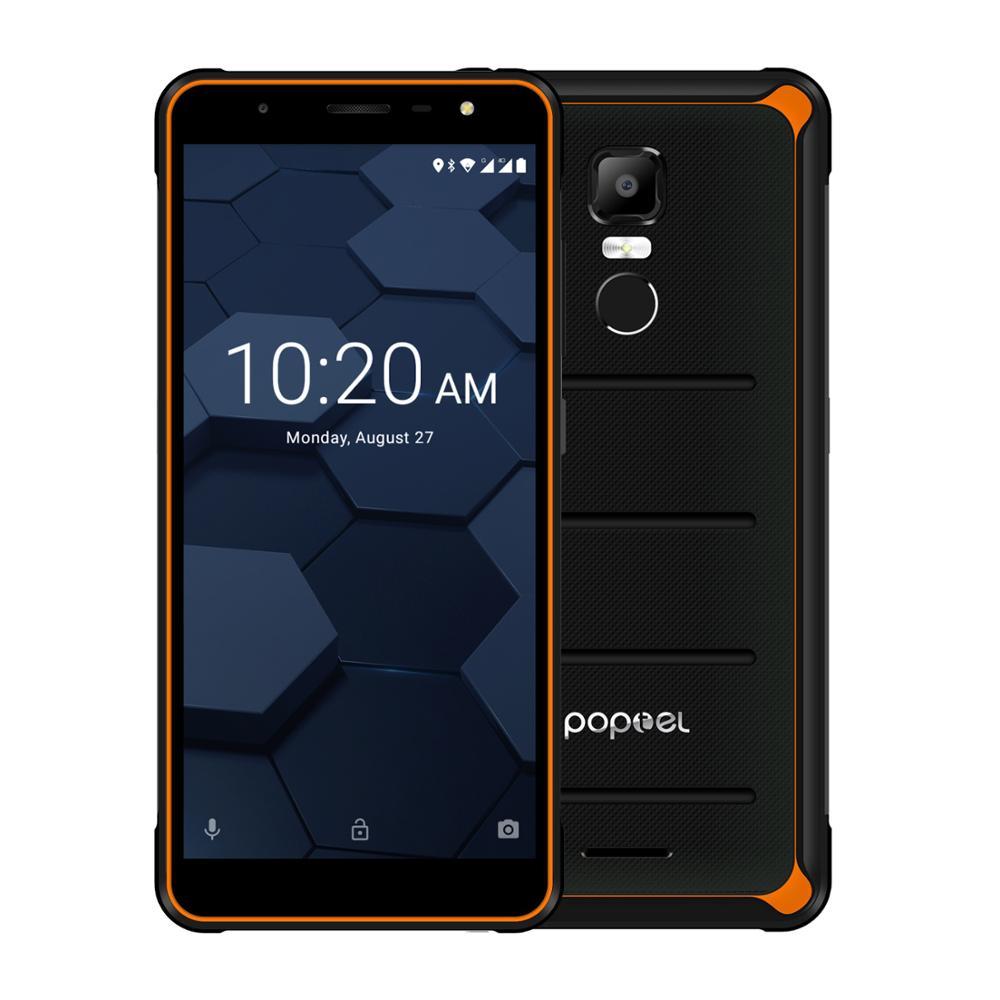 EU version Poptel P10 robuste smartphone 5,5 zoll octa core niedrigen preis 4GB + 64GB NFC entsperrt handys kosten effektive telefon Angebote
