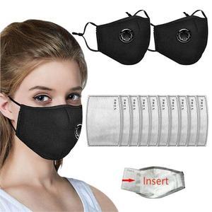Маска для защиты дыхательных путей с фильтрами из активированного угля моющаяся защита от пыли для лица и рта многоразовые маски для взросл...