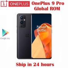 Offizielle Original Neue Oneplus 9 Pro 5G Handy Snapdragon 888 6,7 zoll LTPO AMOLED 120Hz 50MP Hinten kameras NFC Android 11 OS