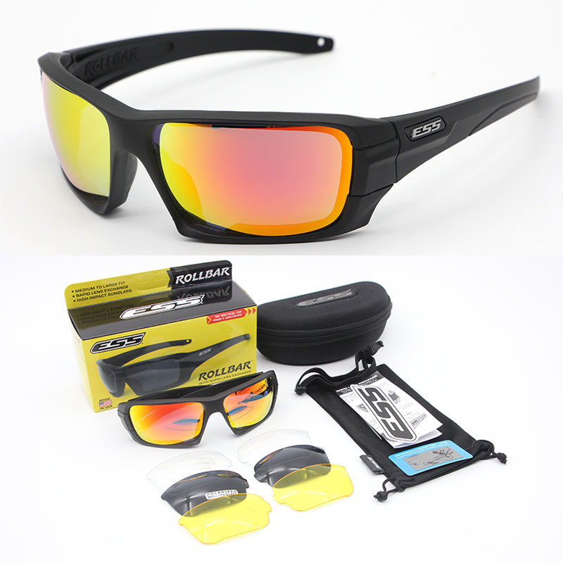 American Version Tactical Goggles, Shooting Glasses, Windbreak Sunglasses, Four Pieces. image