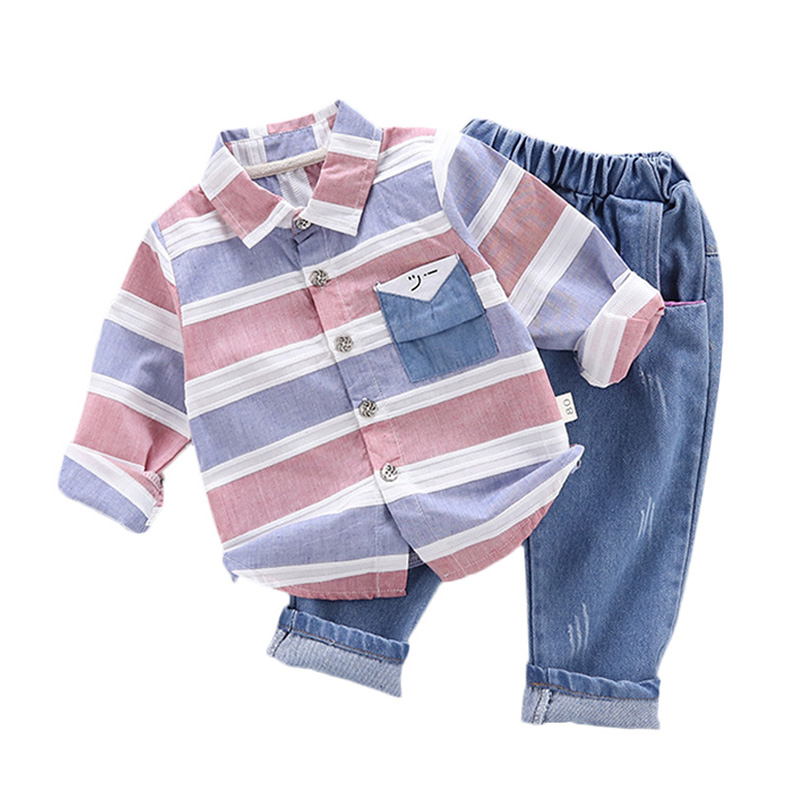 children Boys Clothing Sets spring autumn Suit Kids Clothing Set Little boys Clothes Coat+Pants Clothes