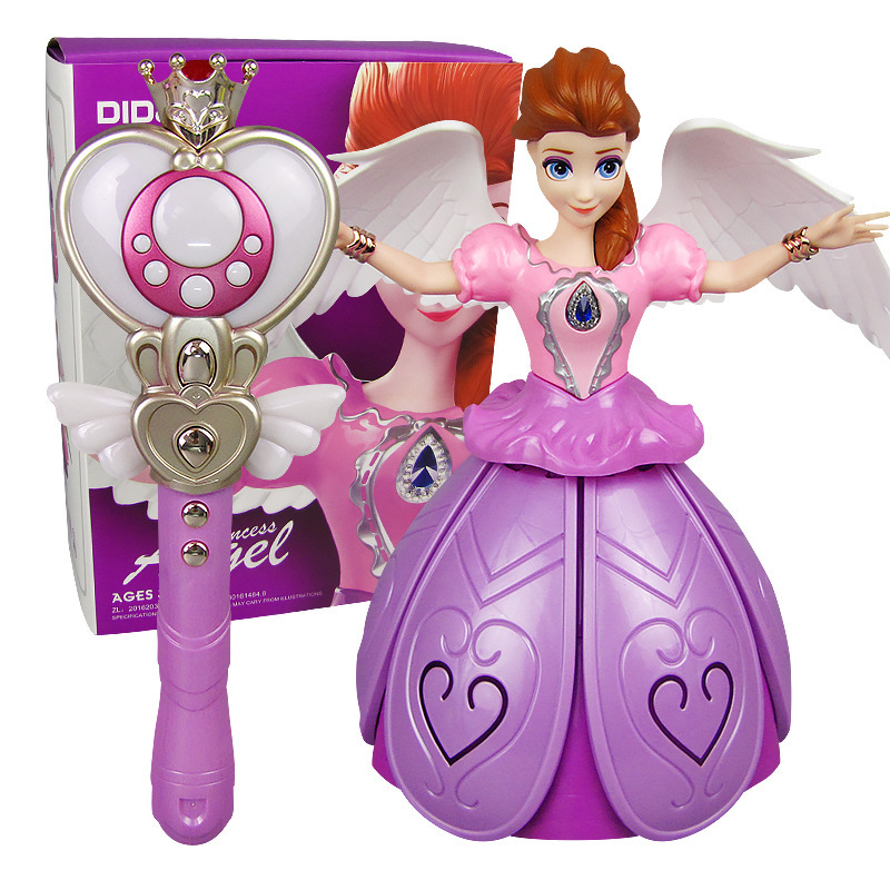 Di S Infrared Remote Control GIRL'S Dancer Princess Light Music Dancing Doll New Style Hot Selling Toy