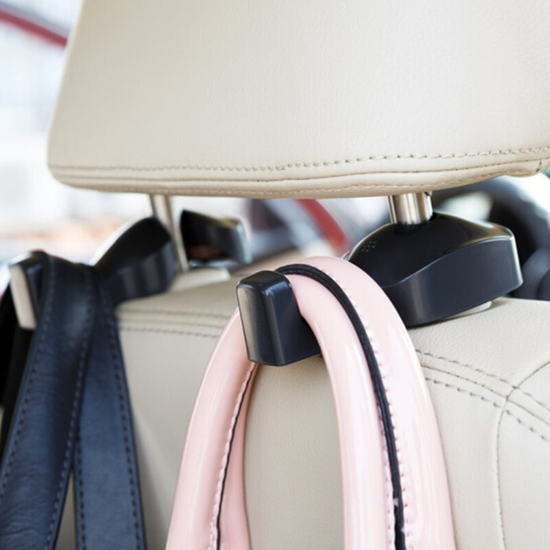 2pcs Car Shopping Bag Holder Seat Hook Hanger For Ssangyong Tivoli XLV Kyron Actyon Korando Rexton Rodius car accessories(China)