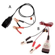 OBD2 Automotive Battery replacement Tool Car Computer Memory Saver Q9QD