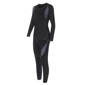 Image 5 - 2 ชิ้นชุดผู้หญิงที่อบอุ่นฤดูหนาวความร้อน Plush กำมะหยี่ความร้อนเสื้อผ้าร้อนแห้งเทคโนโลยีการจับคู่ชุด Conjuntos De Mujer