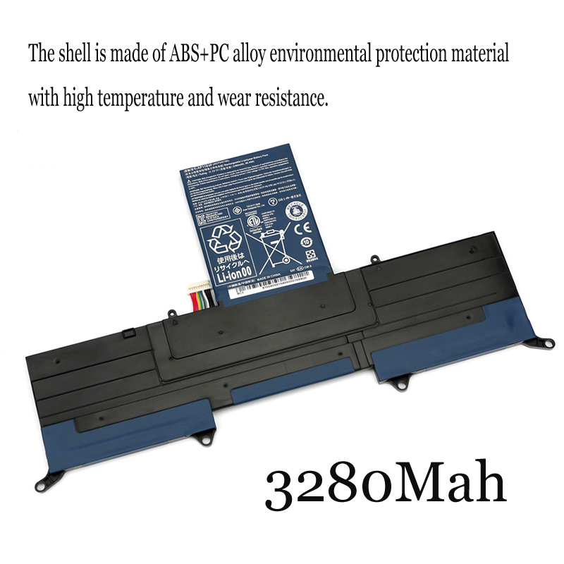 1PC New Laptop Battery Internal For Acer MS2346 <font><b>AP11D3F</b></font> AP11D4F S3-391-951 image