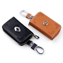 Car-Key-Holders Opel Renault Keychain-Case Key Wallet for Female Printing-Pattern Unisex