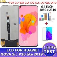 "6.4 ""LCD עבור Huawei נובה 5i LCD תצוגת GLK LX1 LX2 LX3 מגע מסך פנל Digitizer עצרת עבור P20 לייט 2019 תצוגת להחליף"