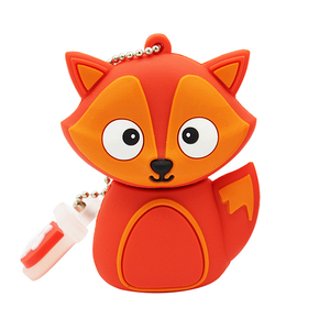 Image 4 - TEXT ME 64GB cute cartoon Penguin owl fox style usb flash drive usb 2.0 4GB 8GB 16GB 32GB vreative pendrive gift