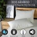 LFH 50X70CM бамбуковое волокно Водонепроницаемый чехол для подушки пылезащитный чехол для подушки на молнии