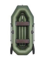 Надувная лодка ПВХ, АКВА-ОПТИМА 260 НД, зеленый 4603725300064