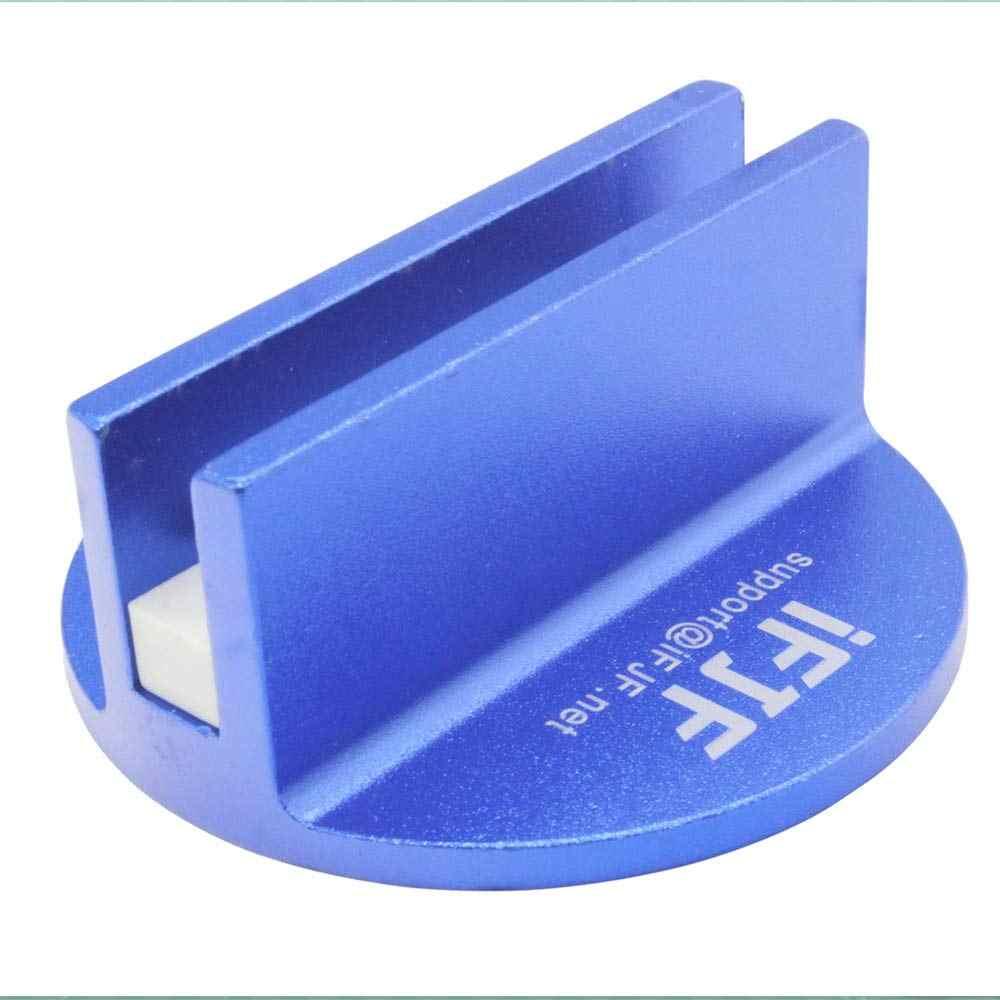 Besar Slotted Universal Magnetic Jack Pad Weld Frame Rel Adaptor untuk Semua Model Mobil