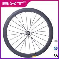 2019 BXT New Carbon bike Road wheels Super Light carbon bicycle wheelset 700C 50mm 23mm Clincher Tubular Road Carbon Wheelset