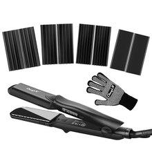 Hair-Straightener Flat Iron Crimper Curler Interchangeable-Plates Wand-Style Ceramic