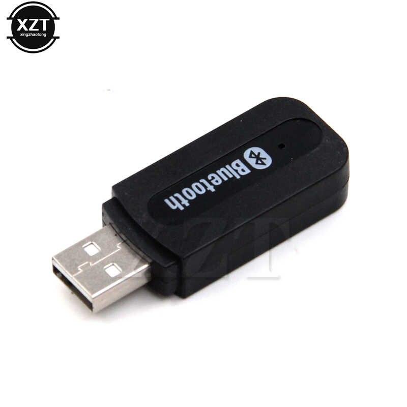 ポータブルミニ 3.5 ミリメートルステレオオーディオ Bluetooth Aux ワイヤレス黒 bluetooth 音楽オーディオレシーバー iPhone 8 Android 携帯