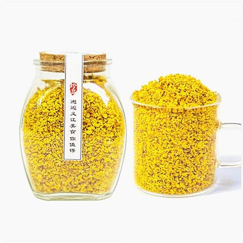 Высококачественная трава сушеный Osmanthus Fragrans Buds, сушеный цветок османтус без сахара