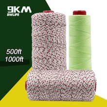 High Strength 50-500lb Braided Dacron Line for Fishing Line Kite Flying Line Backpacking Cord Low Stretch Accessories 1mm-3mm